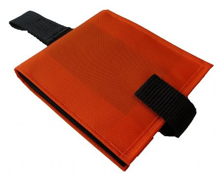 Portable communication book orange